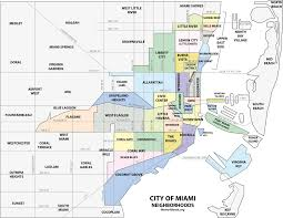 South Florida Map With Cities by Buena Vista Miami Wikipedia