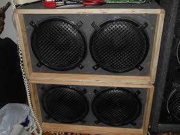 Diy Speaker Box Schematics Speaker Box Designs
