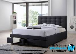 bronte king and queen bed brisbane wholesale furniture