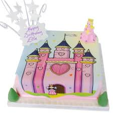 Halloween Castle Cake by Princess Castle Cake Girls Birthday Cakes The Brilliant Bakers
