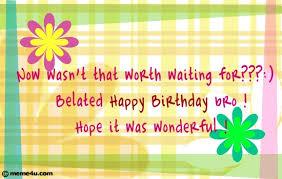 happy birthday brother u2026 belated birthday cards belated birthday