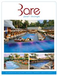 Get The Guest List at Bare Topless Pool in the Mirage Las Vegas