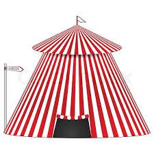 circus tent stock vector colourbox