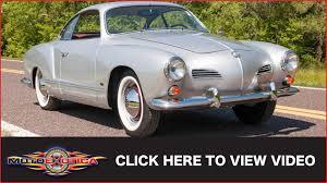 karmann volkswagen 1965 volkswagen karmann ghia sold youtube