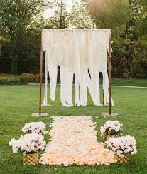 Simple Backyard Wedding Ideas 47 Best Backyard Wedding Backdrops Images On Pinterest Backyard