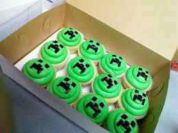 minecraft cupcakes party birthday ideas minecraft