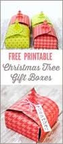 christmas tree gift boxes free printable u2014 the thinking closet