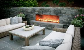 fireplace outdoor binhminh decoration