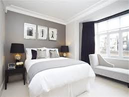 Contemporary Blue Bedroom - blue and gray bedroom walls modern luxury black vanity classical