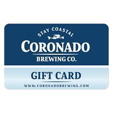 gift card cbc gift card coronado brewing company
