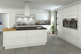 design white kitchen for small spase ideas element glass cooktop