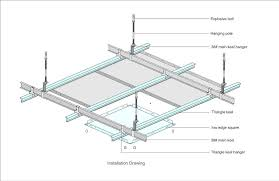 Suspended Ceiling Tiles Price by Kitchen And Barthroom Popular Aluminum Ceiling Tiles Suspended