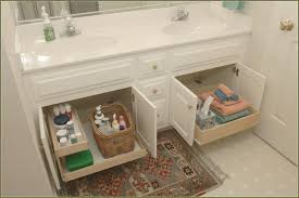 bathroom cabinets slide out shelves bathroom vanity organizers