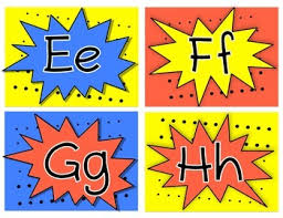 themed letters themed word wall letters by keep your chin up tpt
