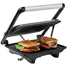 Best Sandwich Toasters With Removable Plates Amazon Com Aicok Panini Press Grill Panini Maker Sandwich Maker
