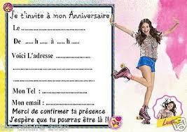 5 cartes invitations anniversaire soy luna 01 anniversaire soy