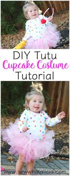 cupcake costume diy tutu and cupcake costume sew what