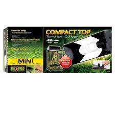 Mini Co Sleeper Canopy by Exo Terra Compact Terrarium Canopy Petco