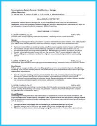 small business owner job description for resume free resume