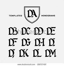 letter k wing template logo label stock vector 317102714