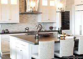 Tile Kitchen Countertop Designs White Modern Subway Marble Mosaic Tile White Kitchen Countertops