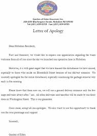 sincere apology letter apology letter to customer all about