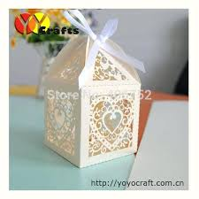 candy favor boxes wholesale wholesale candy wedding favors lot heart shape laser