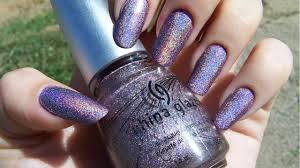 china glaze u0027octa gone wild u0027 holographic nail polish youtube