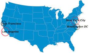 map of usa states san francisco san francisco on map of usa my