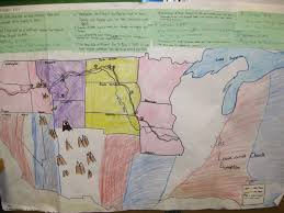 Lewis And Clark Map Social Studies Working With Maps A Teaching Life