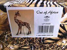 giraffe ornaments figurines elephant collectables ebay
