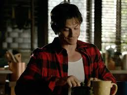 damon salvatore weares frye smith harness boots on the vampire