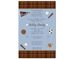 tips for choosing sports baby shower invitations free ideas