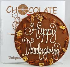 happy thanksgiving chocolate pizza turkey day chocolate dessert idea