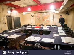 War Cabinet Ww2 The Main Cabinet War Room At The Churchill War Rooms In London