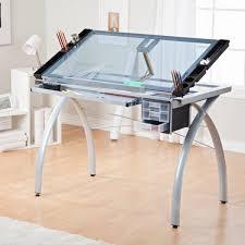 bureau plateau en verre plateau de verre bureau maison design wiblia com