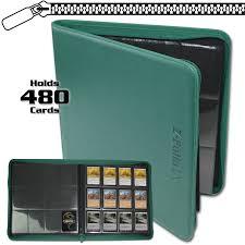 pocket photo album bcw z folio 12 pocket lx album teal gaming accessories
