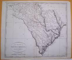 Map Of The Carolinas Usa by Maps Antique United States Us States South Carolina