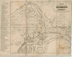 Map Of Richmond Virginia by Map Of Richmond Ellyson 1856 Online Exhibitions