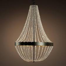 Metal Chandelier Frame Black Frame Hanging Crystals Chandelier