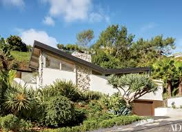 Mid Century Homes Hotelier Jason Pomeranc U0027s Midcentury Home In Hollywood