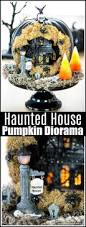 haunted house pumpkin diorama jpg
