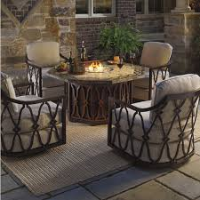 Patio Table Grill Endearing Patio Furniture With Gas Fire Pit Table And Best 25 Fire