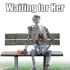Skeleton Computer Meme - pics of skeletons waiting impremedia net