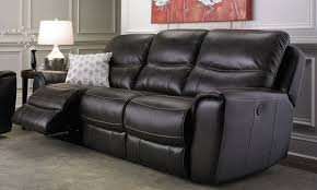 Top Grain Leather Sofa Recliner Era Nouveau Carlton Dual Power Reclining Top Grain Leather Sofa
