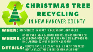 tree recycling environmental management new hanover