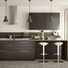 IKEA SEKTION Kitchen - Ikea black kitchen cabinets