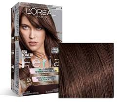 hair color for 45 my favorite hair color loreal féria 45 french roast deep bronzed
