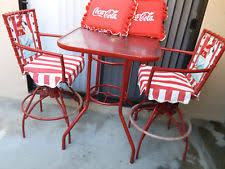 coca cola table and chairs coca cola table ebay
