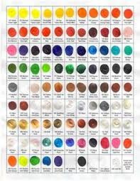elles heart loves color charts